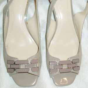 Calvin Klein Taupe Shoes